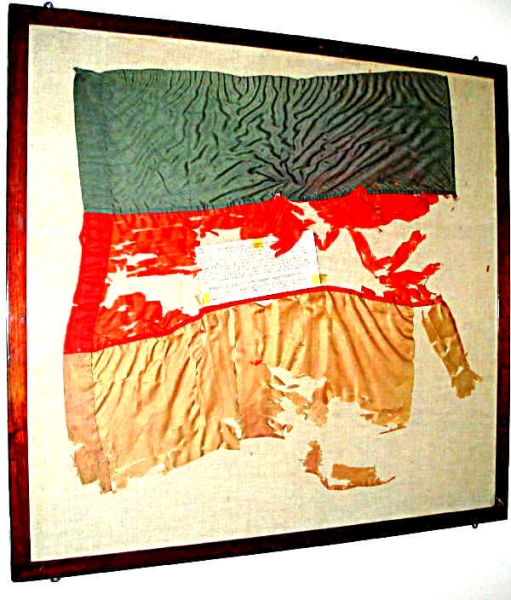 The Great War 1914-1918 Elles original flag found in a french OP Shop