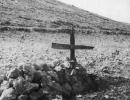 Bernie Cowcher's battlefield grave