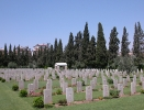 Damascus War Graves Where Bernie Cowcher lies R.I.P.